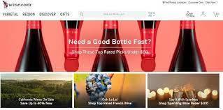 Ecommerce Wine Website