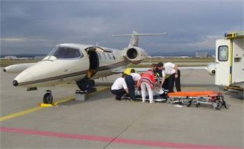 Air Ambulance, Helicopter, Private Charter Jet Plane Services in Indore