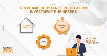 Economic Substance Regulations (ESR)   ESR Investment Businesss