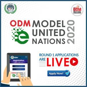 ODM eModel United Nations 2020 Registration
