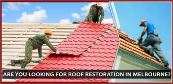 Looking for roof restoration Melbourne?