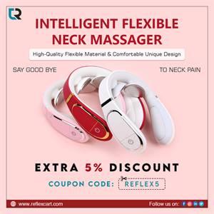 Get the best massager for your Neck - Intelligent Flexible Neck Massager