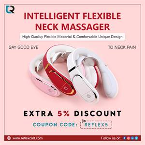 Get the best massager for your Neck - Intelligent Flexible Neck Massager