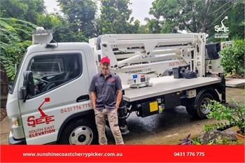Safely Operate at Heights with Our Truck Mounted Cherry Picker