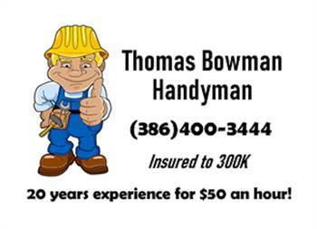 Thomas Bowman Handyman