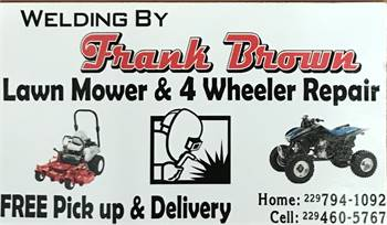 Welding By Frank Brown
