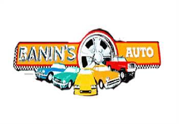 Banin's Auto Supply