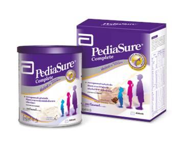 Pediasure อาหารเสริมสำหรับเด็ก สูตรครบถ้วน