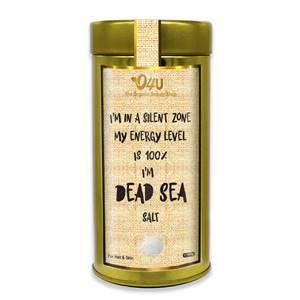 O4U Pure and Organic Jordan Dead Sea Multipurpose Salt for Bath, Hand & Feet and Relaxation