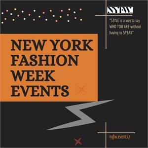 New York Fashion Week Shows