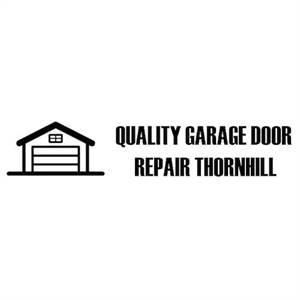 Quality Garage Door Repair Thornhill