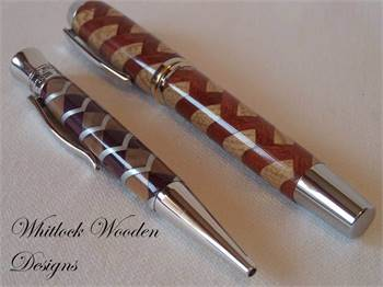 Wooden Fountain Pens Collection