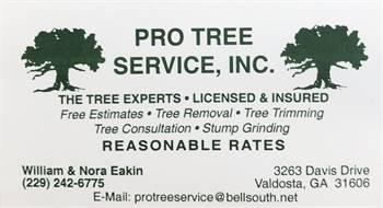 Pro Tree Service, Inc.
