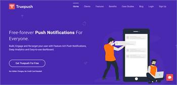 Truepush - Free Forever Push Notifications
