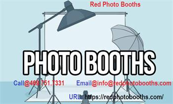 Red Photo Booths - Photo Booths In Dallas