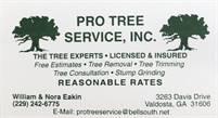 Pro Tree Service, INC. William  Eakin